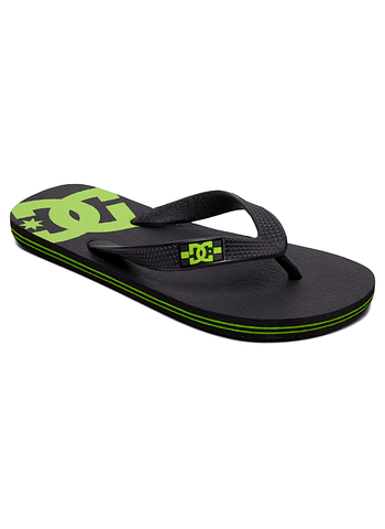 DC Spray Kids Flip Flops