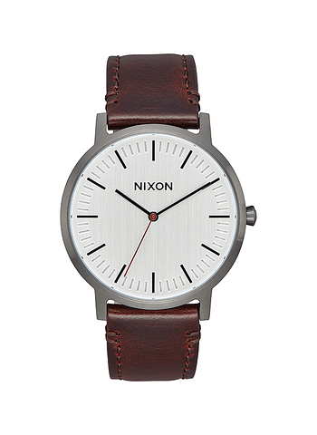 Relogio Nixon Porter Leather