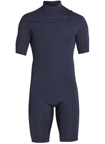 Fato Neoprene Billabong 2/2 Absolute Chest Zip SS GBS