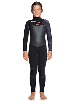 Fato Roxy 4/3 Syncro Plus Chest Zip Girl Wetsuit