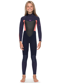 Fato Roxy 4/3 Prologue Back Zip Womens Wetsuit