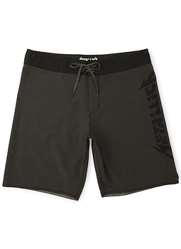 Boardshorts Billabong Black Album Metallica