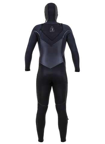 O'Neill Mutant Legend 5/4 Chest Zip Mens Hooded Wetsuit