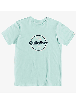 T-Shirt Rapaz Quiksilver Words Remain II