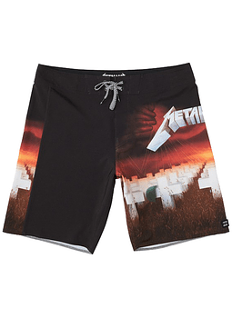 Boardshorts Billabong Master Of Puppets Metallica 19
