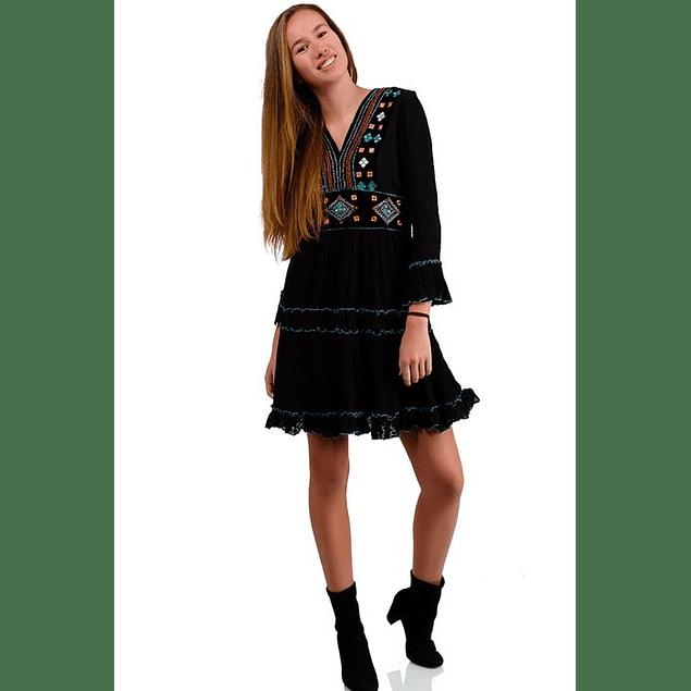 Vestido Teresa Negro