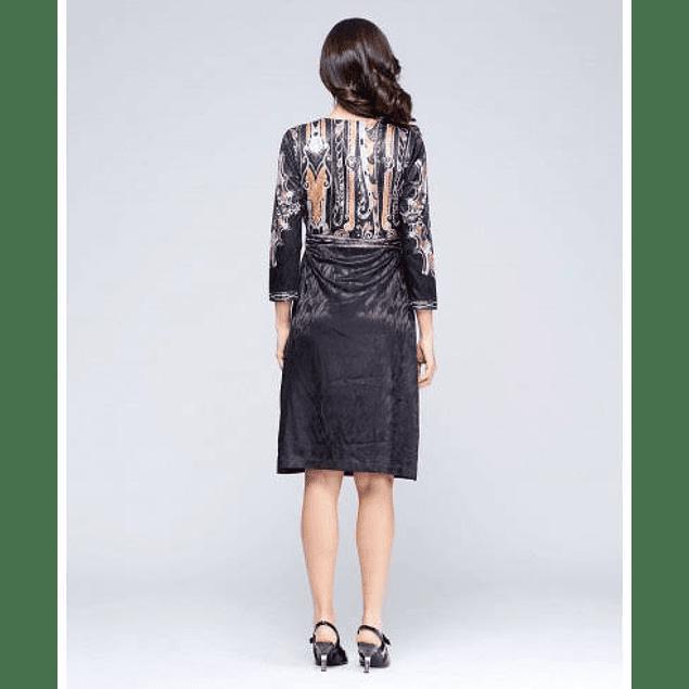 Vestido Cruz Negro