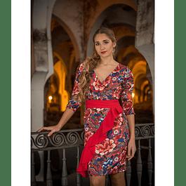 Vestido  Corlina Cruzado