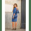Vestido Laurel Azul