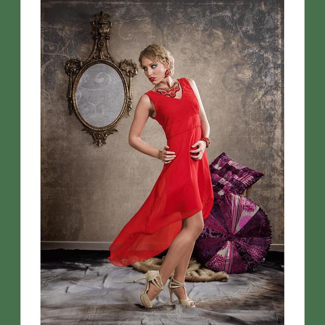 Vestido Nadine Rojo