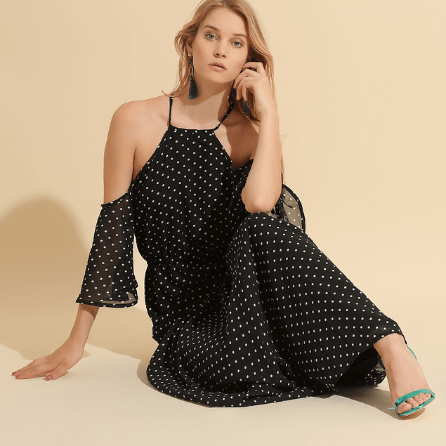 Vestido Mini Dots