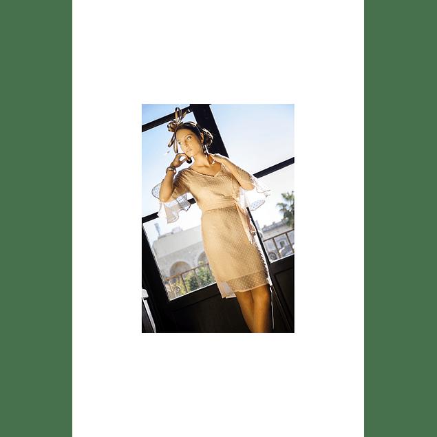 Vestido Nude Plumenti
