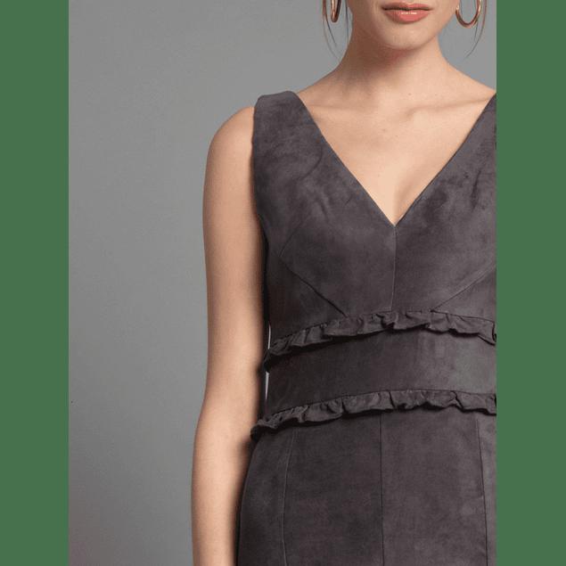 Vestido Agatta Gris
