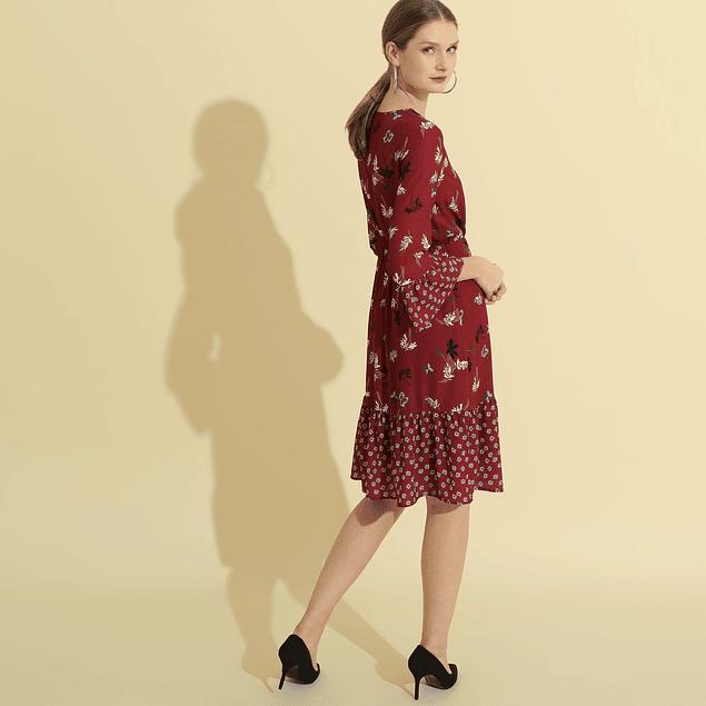 Vestido Rebecca Vino
