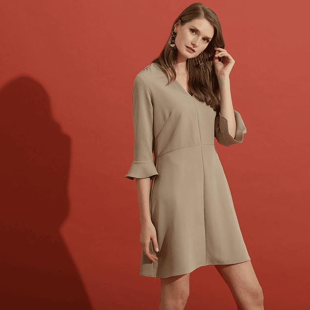 Vestido Sophie Beige