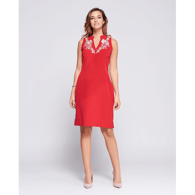 Vestido Caro Rojo