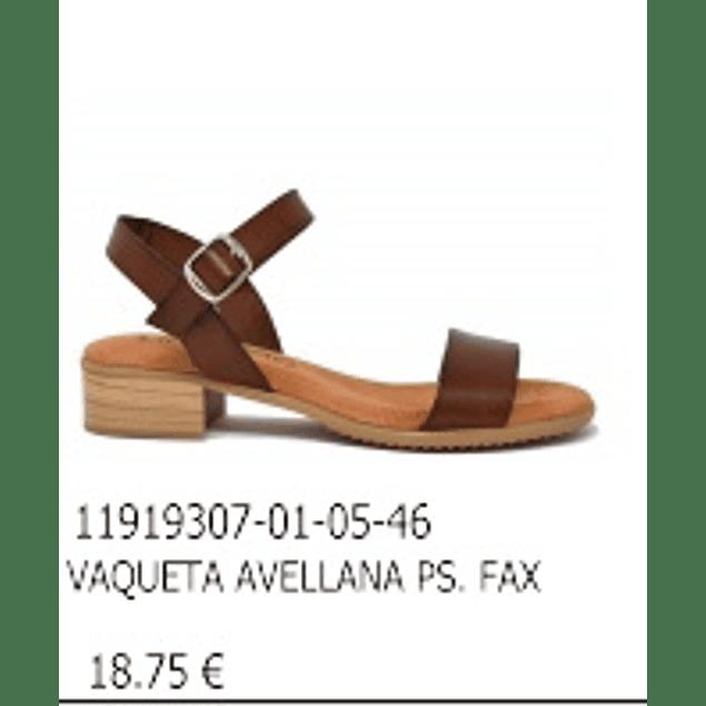 Sandalia Planella Avellana