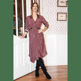 Vestido Wine Largo