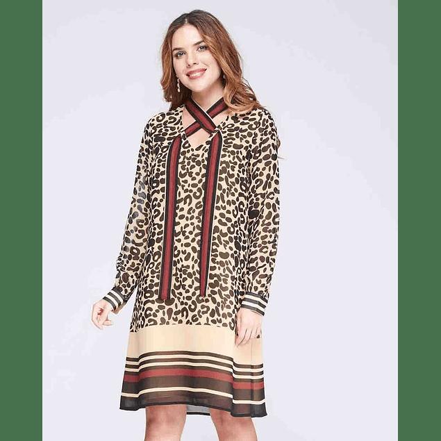 Vestido Martell Print