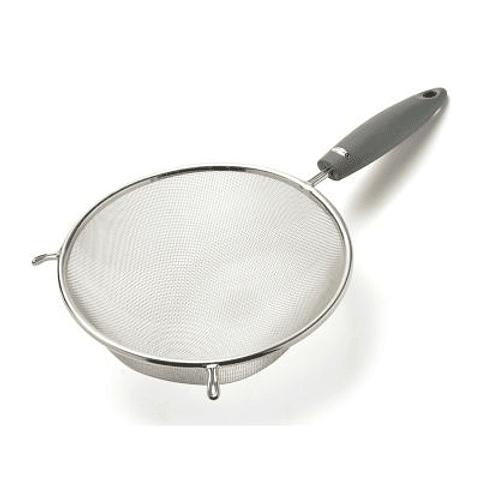 Colador Malla Fina Mango Plástico 12,5 cm