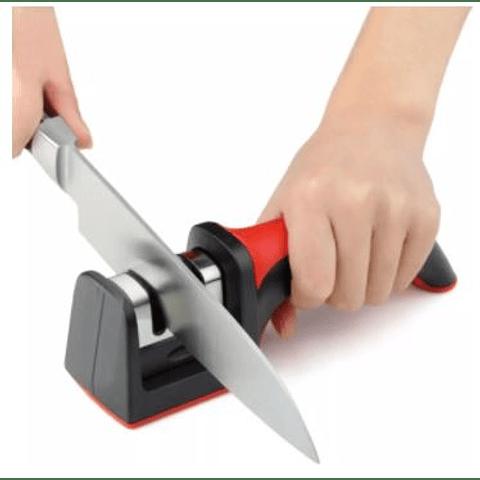 Afilador de cuchillos 2 ranuras