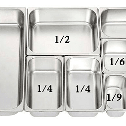 Gastronorm 1/4 15 cm