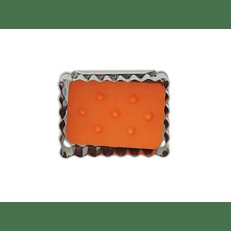 Molde  Galleta Rectángulo  6x4,5 cm