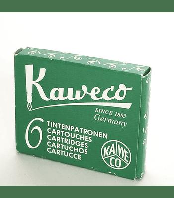 Kaweco - Ink Cartridges - Palm Green