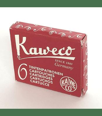 Kaweco - Ink Cartridges - Ruby Red