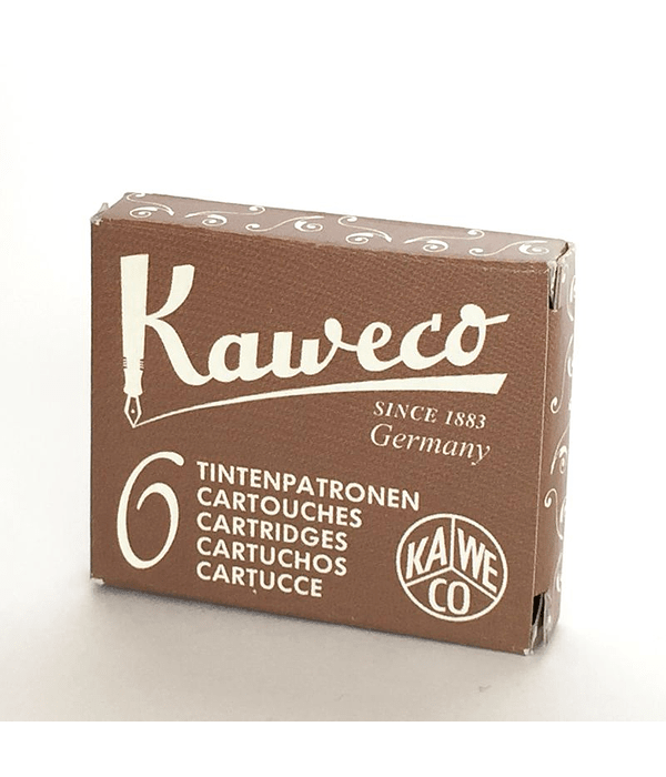 Kaweco - Ink Cartridges - Caramel Brown