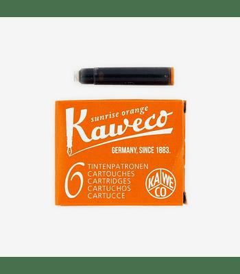 Kaweco - Ink Cartridges - Sunrise Orange