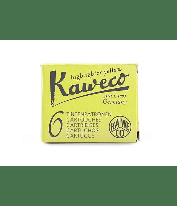 Kaweco - Ink Cartridges - Glowing Yellow
