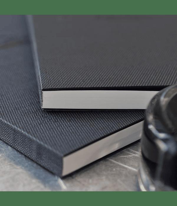 Tomoe River - Cuaderno tapa dura, 184 h (52 g/m2); A5; Puntos 5 mm - blanca