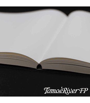 Tomoe River - Cuaderno tapa dura, 184 h (68 g/m2); A5; Croquis - blanca