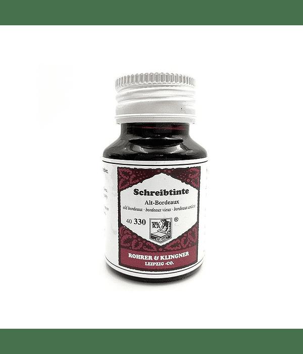 R&K - 50 ml Schreibtinte - Alt-Bordeaux