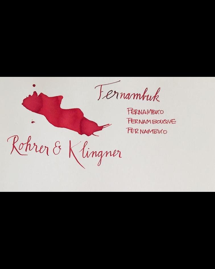 R&K - 50 ml Schreibtinte - Fernambuk
