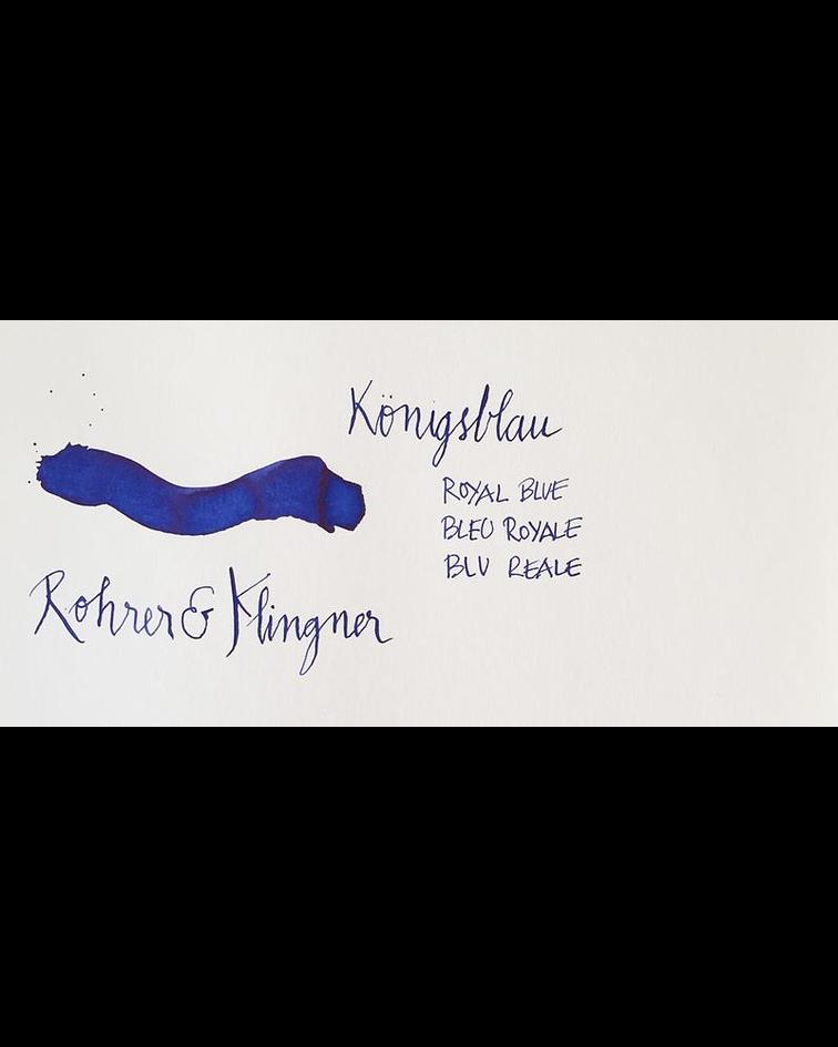 R&K - 50 ml Schreibtinte - Königsblau
