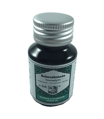 R&K - 50 ml Schreibtinte - Smaragdgrün