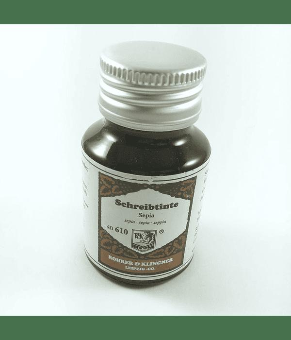 R&K - 50 ml Schreibtinte - Sepia