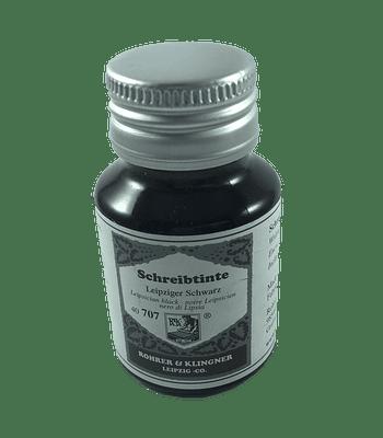R&K - 50 ml Schreibtinte - Leipziger Schwarz