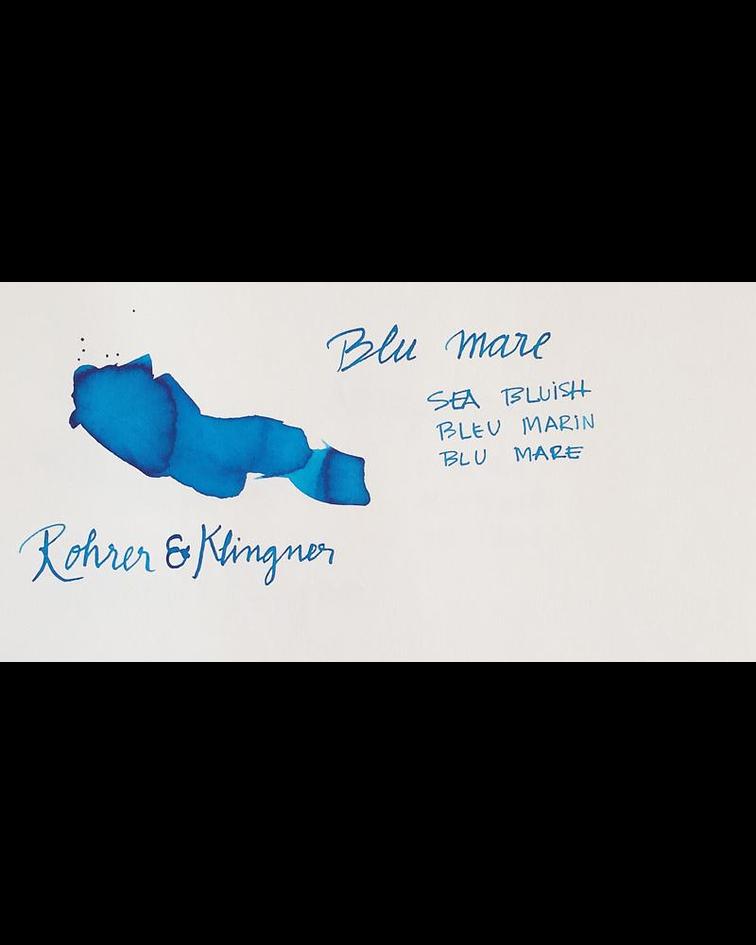 R&K - 50 ml Schreibtinte - Blu mare