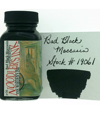 Noodler's - Botella 3 oz - Bad Black Moccasin