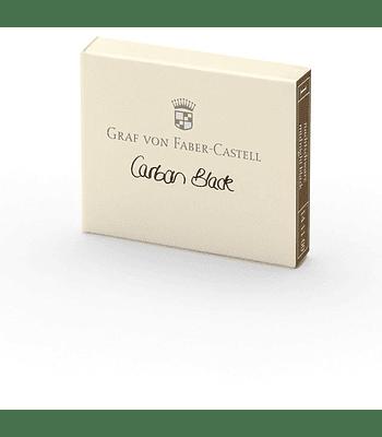 Graf von Faber-Castell - Cartucho - Carbon black