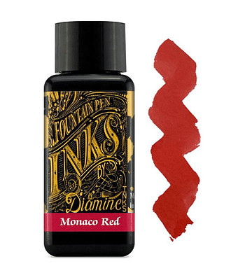 Diamine - 30 ml Regular - Monaco Red