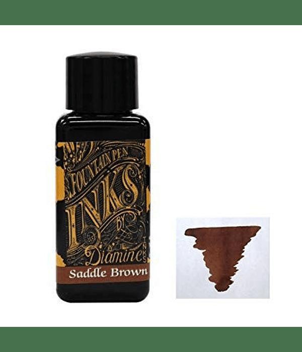 Diamine - 30 ml Regular - Saddle Brown