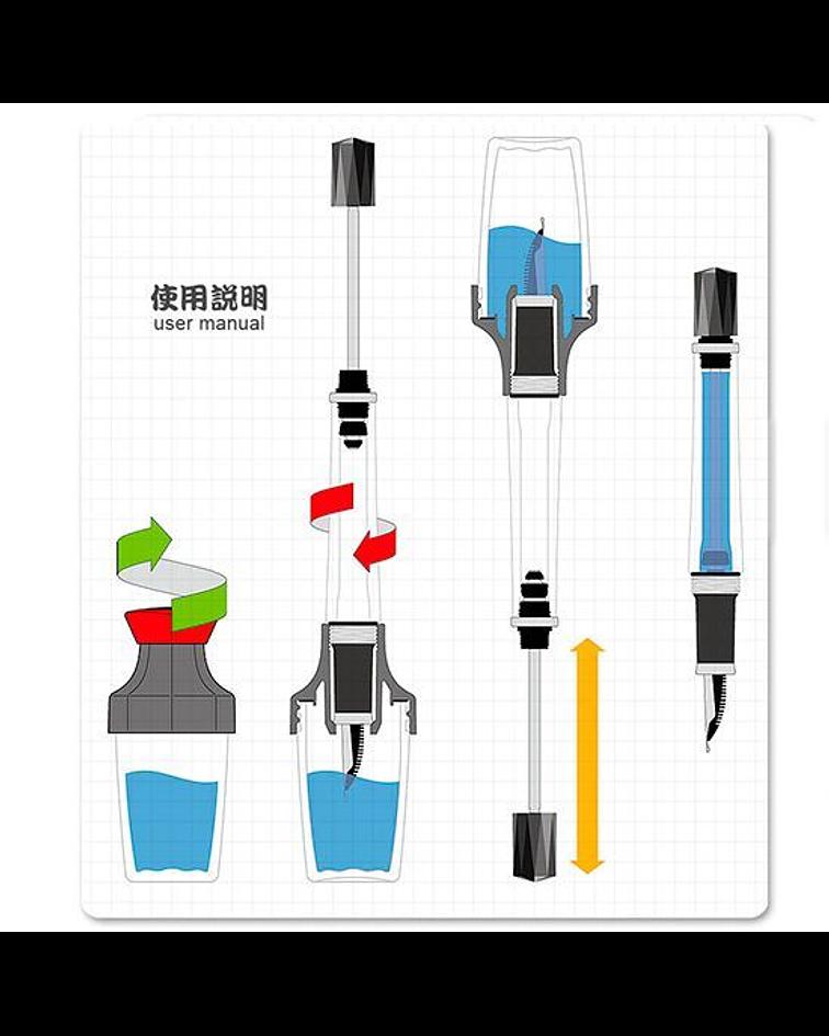 TWSBI - VAC 20 Ink Bottle - Orange