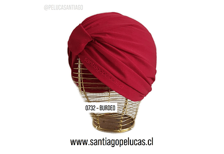 SB 0732 TURBANTE LYCRA BURDEO