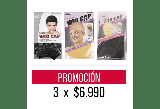 PROMOCIÓN 3 x $6.990 WIG CAP