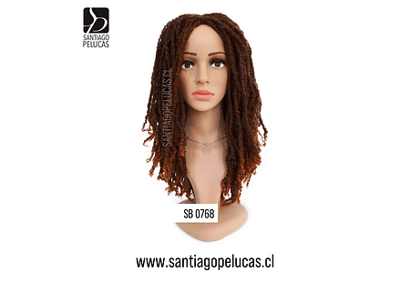 SB 0768 DREADLOCKS CHOCOLATE COBRIZO