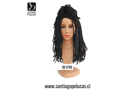 SB 0769 DREADLOCKS NEGRO